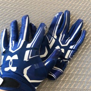 Youth Under Armour Football Gloves